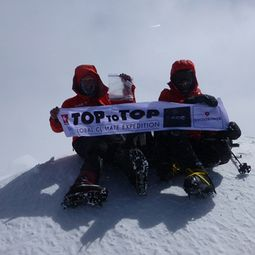 TOPtoTOP, global climate expedition, climate ambassadors, seven summits